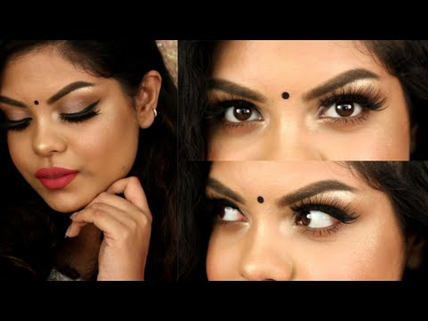 SIMPLE & EASY RAKHI MAKEUP TUTORIAL | KOLKATA INDIA