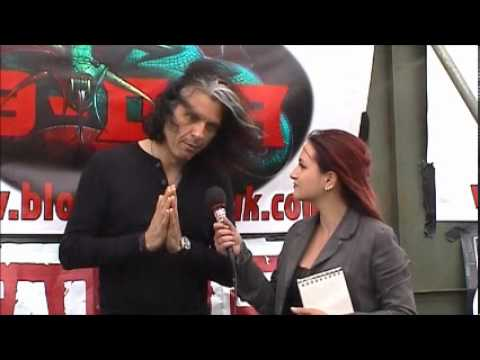 Alex Skolnick (Testament) interview @Bloodstock 2012 with TeePee (TotalRock)