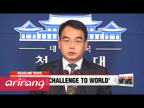EARLY EDITION 18:00 N. Korea's threat is direct challenge to S. Korea and world: President Park