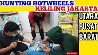 HUNTING HOT WHEELS KELILING JAKARTA - SEROK CIVIC, NISSAN, CHEVY, TREASURE HUNT REGULER