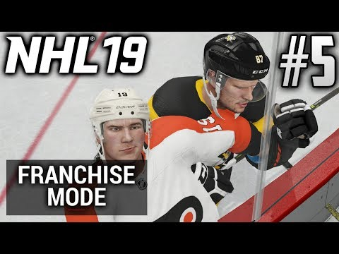 NHL 19 Franchise Mode | Philadelphia Flyers | EP5 | A TOUGH ONE AGAINST PITTSBURGH (S1G72)