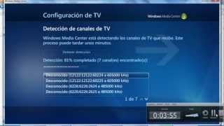 Configurar TV Digital con Windows Media Center y Decodificadores Receptores Digital HDTV