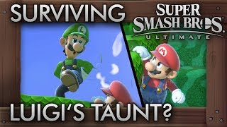 Who Can Survive Luigi's Deadly Taunt? - Super Smash Bros. Ultimate