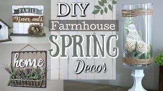 DIY Farmhouse Spring Decor Ideas | Dollar Tree DIY Home Decor 2019 | Krafts by Katelyn