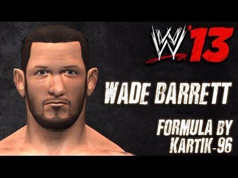 WWE '13 Wade Barrett Formula By kartik-96