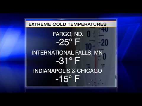 Polar Vortex Puts Midwest in Deep Freeze