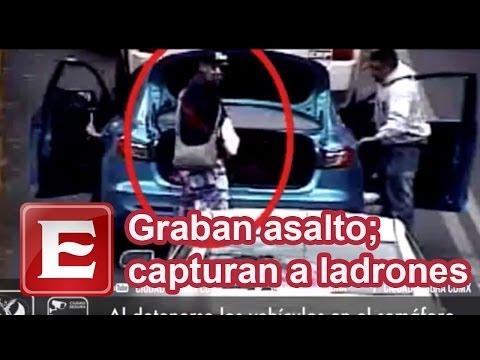 Graban asalto a mano armada contra automovilista