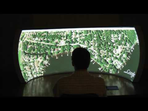 Scalable Display Technologies Immersive Vista Desktop