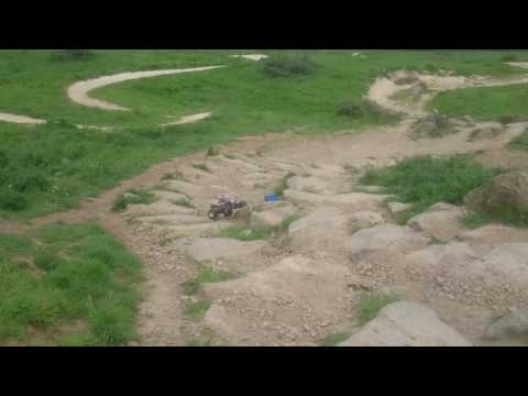 Traxxas Stampede, Maverick Scout. Hadleigh Olympic bike track(1)