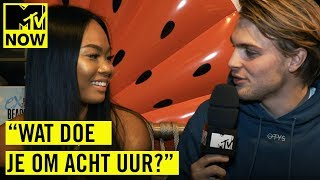 LENA uit EOTBDD versiert RIJK | MTV NOW SPECIAL: Persdag Ex on the Beach: Double Dutch