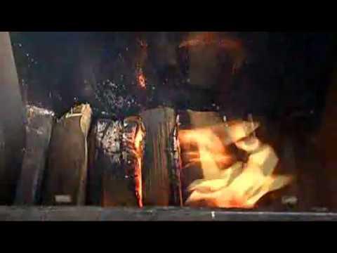 Άναμμα λέβητα ξύλου με ανάστροφη φλόγα Buderus Music Videos