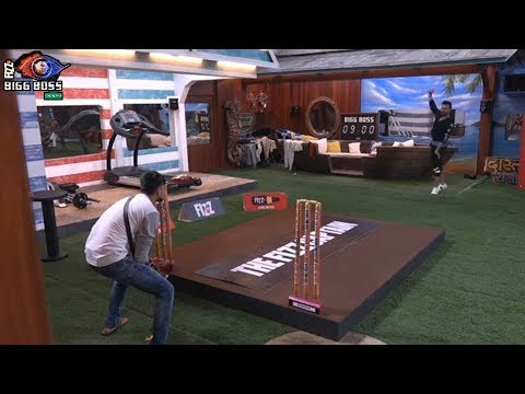 Bigg Boss 12 : After Fixing First Time Sreesanth Playing Cricket With Housemates | BB 12
