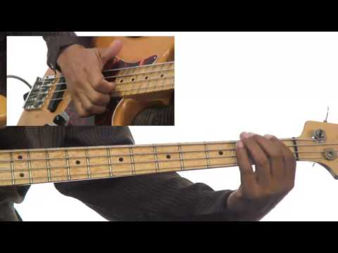 Bass Grooves - #24 5-4-1 Salsa Groove Playalong - Bass Guitar Lesson - Andrew Ford video