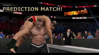 WWE 2K15 John Cena vs Rusev - I quit match (Submission match) | Payback 2015 - PS4 Gameplay