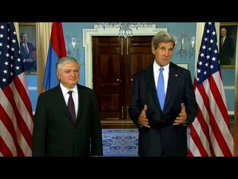 Secretary Kerry Delivers Remarks With Armenian Foreign Minister Nalbandian