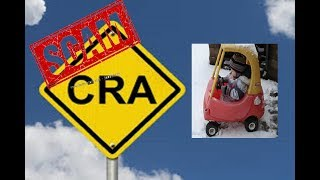 FAKE CRA SENDS ME TO WALMART IN SNOW STORM