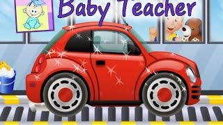 Car Wash, My Little Car Wash - Games for Kids From Baby Teacher