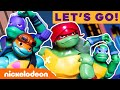 Rise of the TMNT Toys Epic Fights, Radical Chases & More! 🐢 #AD | Nick thumbnail