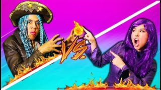 MAL vs UMA - Batalla de Rap   Descendientes 2   Epic Rap Battle