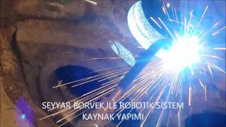 portable line boring & welding  TURKEY