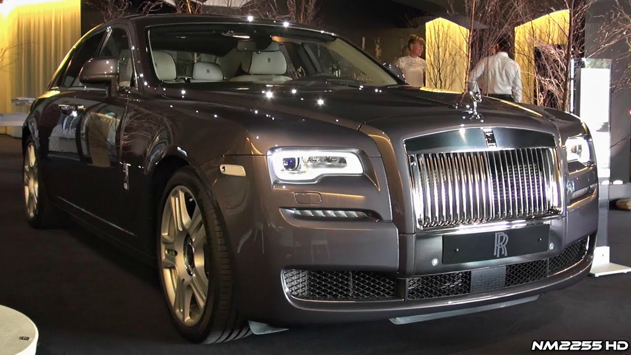 Phantom Rose Royce >> 2015 Rolls-Royce Ghost Series II & Phantom Drophead Waterspeed Collection - YouTube