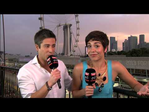 F1 Singapore GP Hosting - Max & Nikki