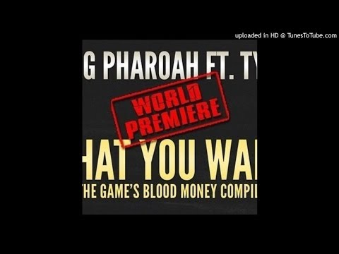 Tyga - Pharaoh Jackson - What You Want From Me