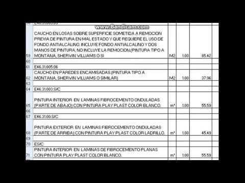 Pintor brocha gorda precios mano de obra pintura nov 2013 for Precio mano de obra construccion
