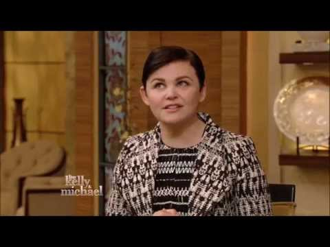 Ginnifer Goodwin Live With Kelly and Michael 3 06 2015