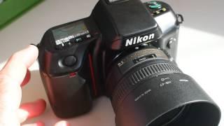 Fast Shooting Film Camera.  Nikon n70.