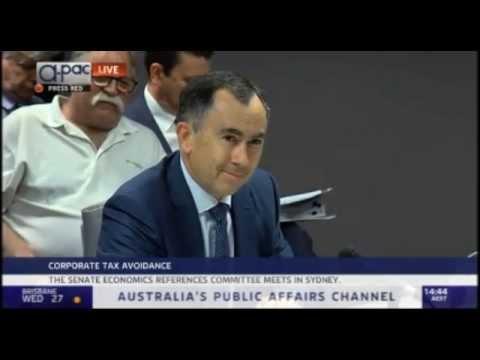 Australian Corporate Tax Avoidance Committee Enquiry - Apple, Google, Microsoft