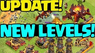 Clash of Clans UPDATE! NEW LEVELS! MORE!