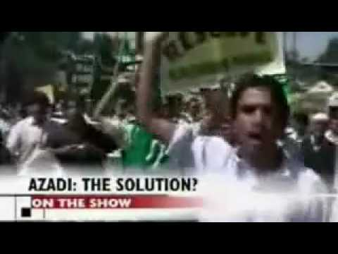 Pro Pakistan Slogans in Kashmir FUCK INDIA.flv