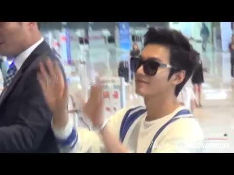 Lee Min Ho 20140615 Gimpo Airport 중국 출국