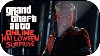 "GTA 5 Halloween DLC NEW ""BLACKOUT"" SLASHER GAMEMODE ONLINE (GTA 5 Halloween Surprise Update)"