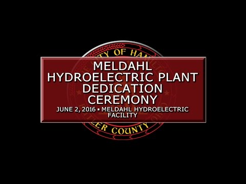Meldahl Hydroelectric Plant Dedication