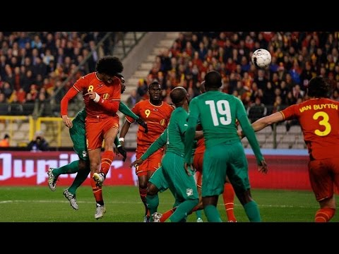 BELGIUM's highlights 2-2 Ivory Coast's goals | Friendly | 2014/03/05
