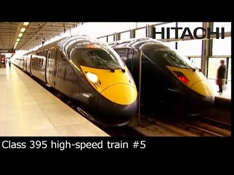 Hitachi Class 395 train for Southeastern Railway (UK) : future (English subtitles)