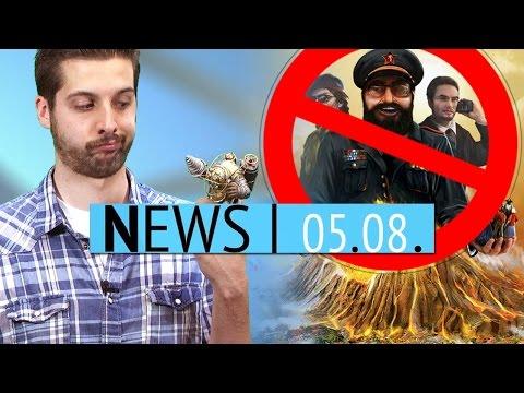 Bioshock kommt wieder & Tropico 5 in Thailand verboten - News - Dienstag, 5. August 2014