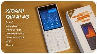Xioami Qin AI 4G Phone unboxing & Handson