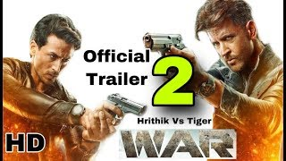 War Movie | War Trailer 2 | Hrithik Roshan, Tiger Shroff, Vaani Kapoor| Trailer 2 Out Soon