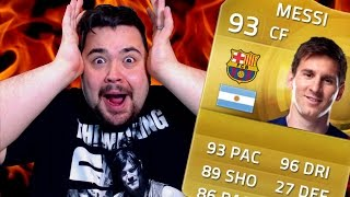 MESSI IN A PACK - Fifa 15 Opening Packs.