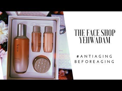 The Face Shop Yehwadam Revitilizing Anti Ageing range