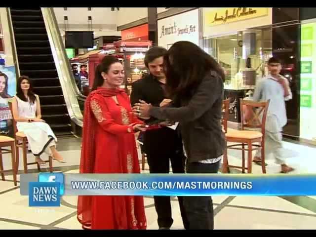 shahrukh magician and illusionist perform mast morning with sadia imam may 16 p-1