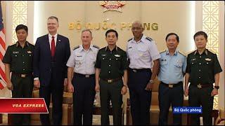 Truyền hình VOA 21/8/19: Tư lệnh Không quân Mỹ đầu tiên thăm VN thời hậu chiến