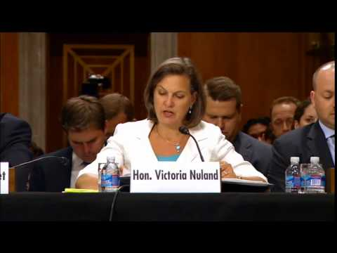 "Assistant Secretary Nuland Testifies on ""Russia and Developments in Ukraine"""