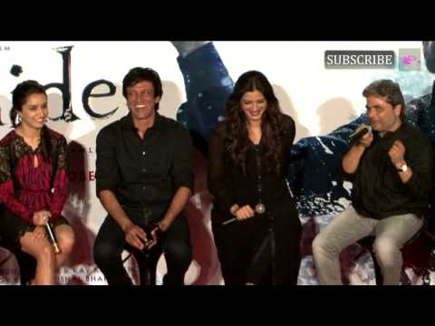 Shahid Kapoor And Shraddha Kapoor At Trailer Launch Of Movie Haider Part 6