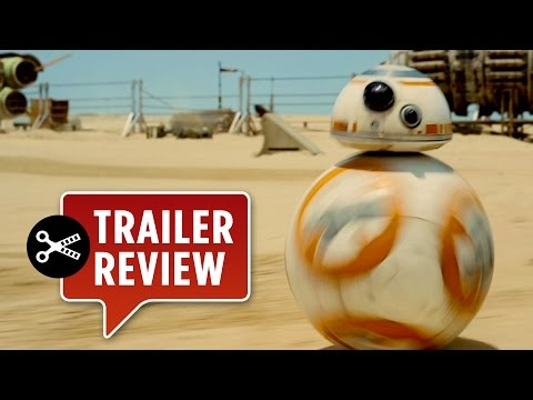 Instant Trailer Review: Star Wars Episode VII: The Force Awakens Teaser - J.J. Abrams Movie HD