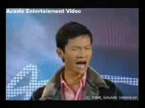 Australian Idol 2 Auditions - Zhuo (Flynn) Liu - Beat It