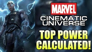 How Powerful is the MCU Thor?